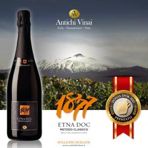 Premiato Douja d'Or 1877EtnaDOC Brut Millesimato 2012